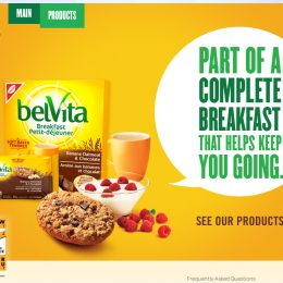 Belvita Breakfast Website
