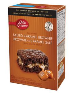 Betty Crocker Salted Caramel Brownies