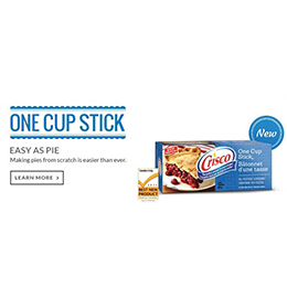 Crisco One Cup Stick