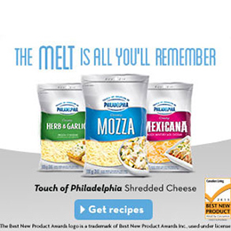 Kraft Shredded Cheese with Philly
