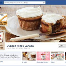 Duncan Hines Facebook