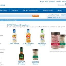 Kraft Canada Web