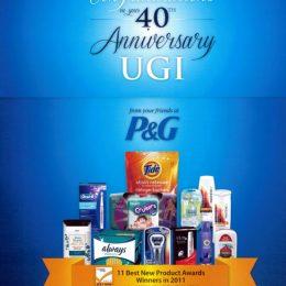 P&G UGI 40th Anniversary