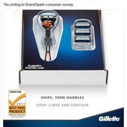 Gillette Facebook
