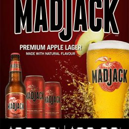 Mad Jack Apple Lager