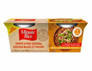 Minute Rice Ready To Serve Cups - White & Red Quinoa or Brown Rice & Mixed Grains