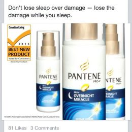 Pantene Overnight Miracle Repair