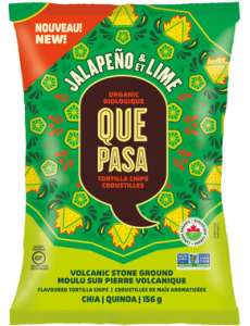 Que Pasa Jalapeno & Lime Organic Tortilla Chips