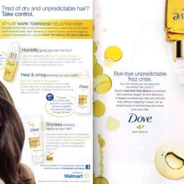 Dove / Walmart Print Ad
