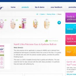 Nair Website
