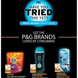 P&G Brands at Walmart eBlast: Top