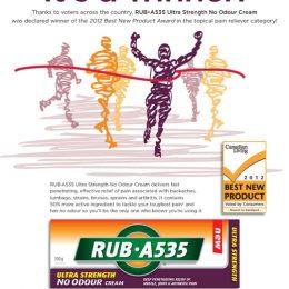 Rub A535 Print Ad