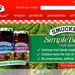 Smuckers Web