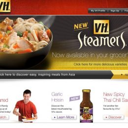 VH Steamers Website