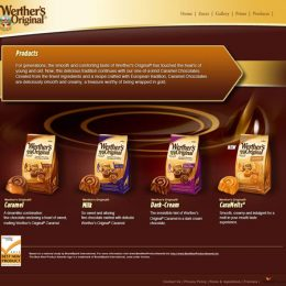 Werther's Original Website